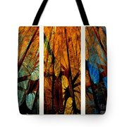 Sky-trees Montage Tote Bag