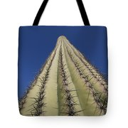 Skyward View Of A Saguaro Cactus Tote Bag