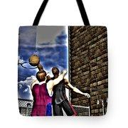 Slammed Tote Bag by Michael Stowers