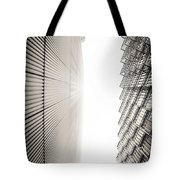 Slatted Window Architecture Tote Bag