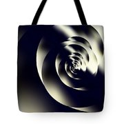 Sleek Modern Snail Tote Bag