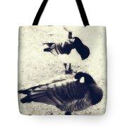 Sleeping Ducks Tote Bag