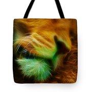 Sleeping Lion 2 Tote Bag