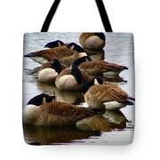 Sleepy Geese Tote Bag