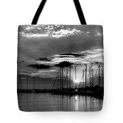 Sleepy Harbor Tote Bag