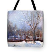Sleigh Ride Tote Bag