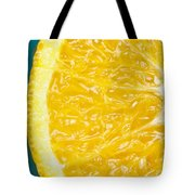 Sliced Orange Tote Bag