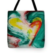 Sliced Peppers Tote Bag