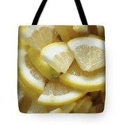 Slices Of Lemon Tote Bag