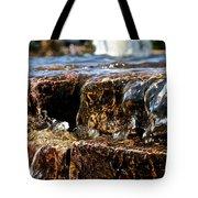Sliding Water Tote Bag