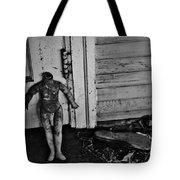 Slipped  Tote Bag