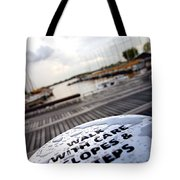 Slopes And Steps Tote Bag