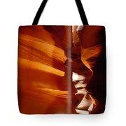 Slot Canyon Shaft Of Light Tote Bag