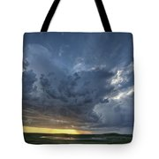 Slough Pond And Crop Tote Bag