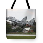 Slovak Air Force Mig-29 Fulcrum Taking Tote Bag
