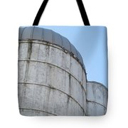 Small And Big Silos Tote Bag