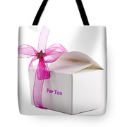 Small Box Of Chocolates Tote Bag