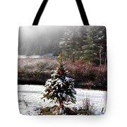 Small Christmas Tree Filtered Tote Bag