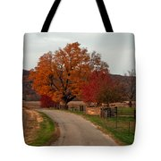 Small Country Road Tote Bag