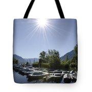 Small Harbor Tote Bag