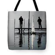 Small Sailing Boat Tote Bag