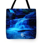Small Waterfall Going Into Spirit Lake  Tote Bag