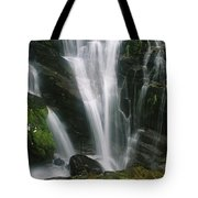 Small Waterfall Near The Milford Track Tote Bag
