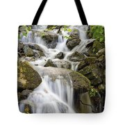 Small Waterfalls And Brook West Bolton Tote Bag