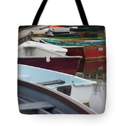 Small Wooden Boats Tote Bag