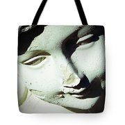 Smile On Her Face Tote Bag