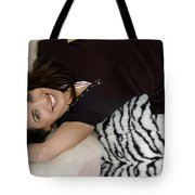 Smiles In Pigtails Tote Bag