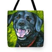 Smiling Lab Tote Bag