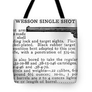 Smith & Wesson Pistol Tote Bag