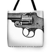 Smith & Wesson Revolver Tote Bag