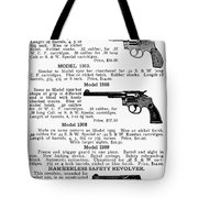 Smith & Wesson Revolvers Tote Bag