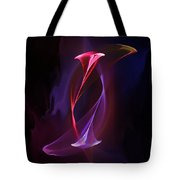 Smoke Dance Tote Bag