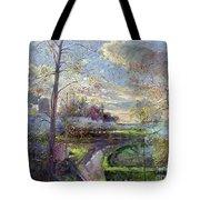 Smoke Drift - Autumn Tote Bag