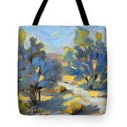 Smoketrees Light And Shadow Tote Bag