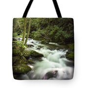Smokey Mountain Stream No.312 Tote Bag