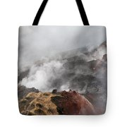 Smoking Fields Tote Bag
