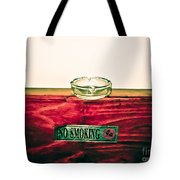 Smoking Mixed Messages Tote Bag
