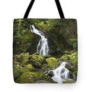 Smoky Mountain Waterfall - Mouse Creek Falls Tote Bag