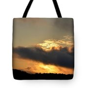 Smoldering Sunrise Tote Bag
