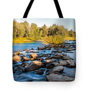 Smooth Rapids Tote Bag
