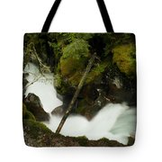 Smoothing The Rocks Tote Bag
