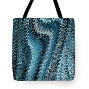 Snake Abstract Tote Bag