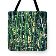 Snake Grass On The Beach Tote Bag