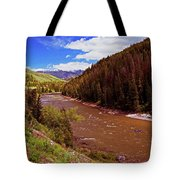 Snake River And Rafters Tote Bag