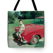Snapshot From 1950s Tote Bag