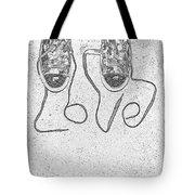 Sneaker Love 2 Tote Bag by Paul Ward